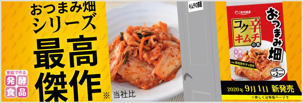 家庭で漬ける発酵食品 コク辛キムチ
